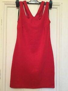 ATMOSPHERE-A-lovely-Ladies-Red-Bodicon-Party-Dress-size-12