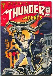 Thunder-Agents-1-Tower-1965-FN-1st-Dynamo-Wally-Wood