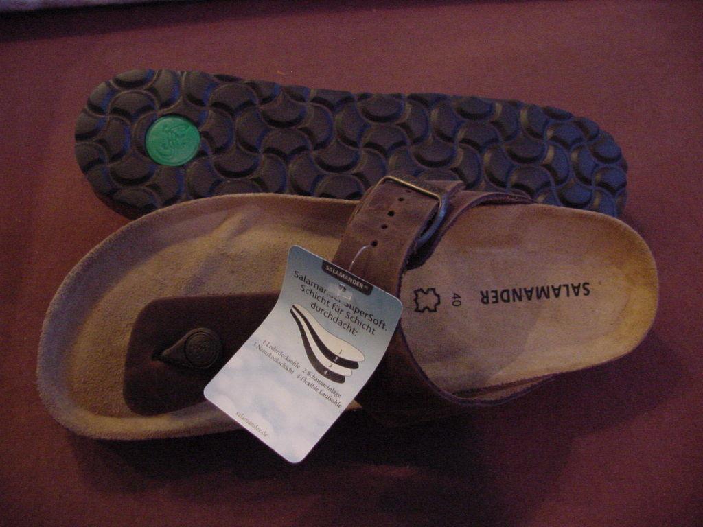 Salamander  Balbao Ramses    40  L 9 M 7 Oiled Leather Brown