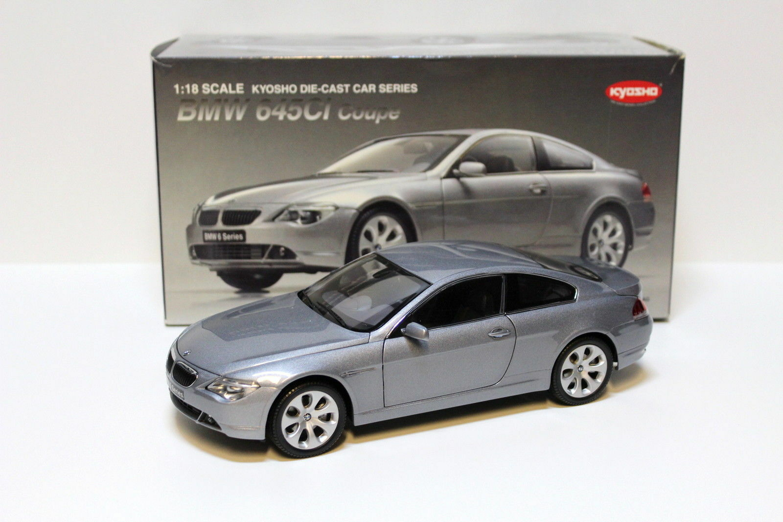 ahorrar en el despacho BMW 645 Ci E63 COUPE COUPE COUPE plata  KYOSHO 08701S 1 18 RAREZA NEW  centro comercial de moda