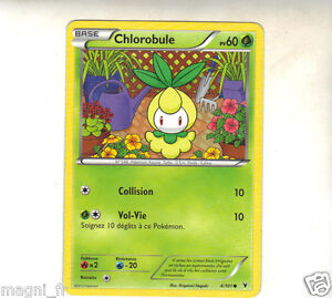 Pokemon-n-4-101-CHLOROBULE-PV60-A1594