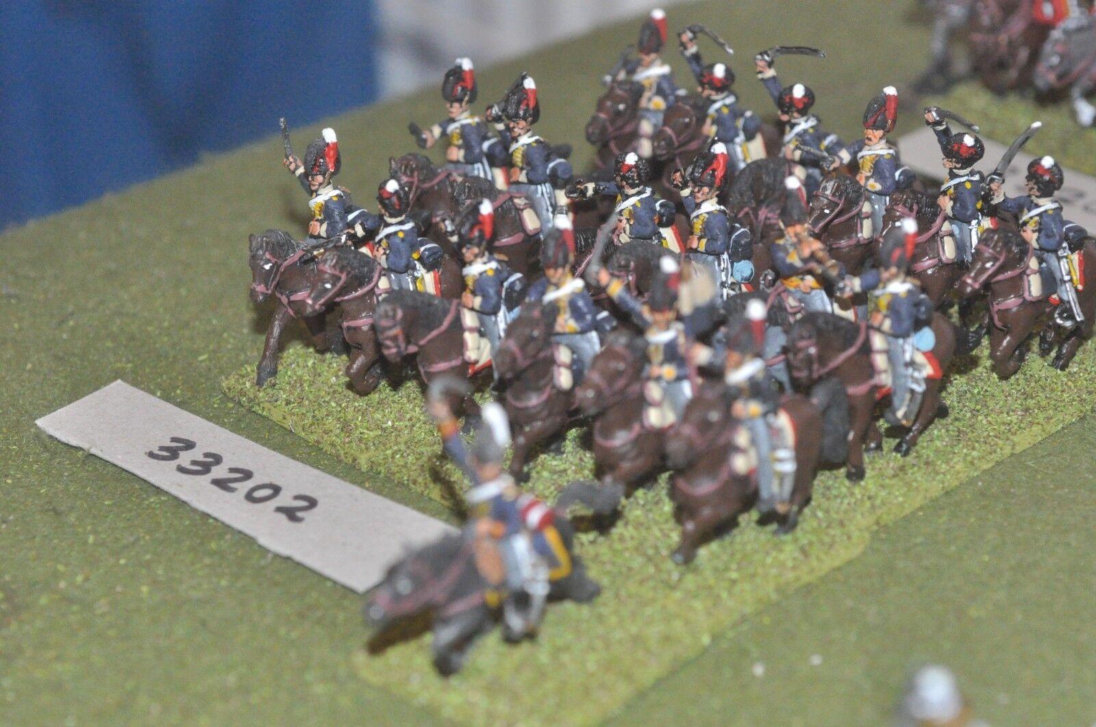 25 25 25 mm napoléoniennes/British-light dragoons 19 Figures-CAV (33202) 896827