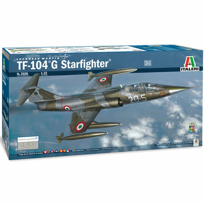 ITALERI TF-104 G Starfighter 2509 1 32 Aircraft Model Kit