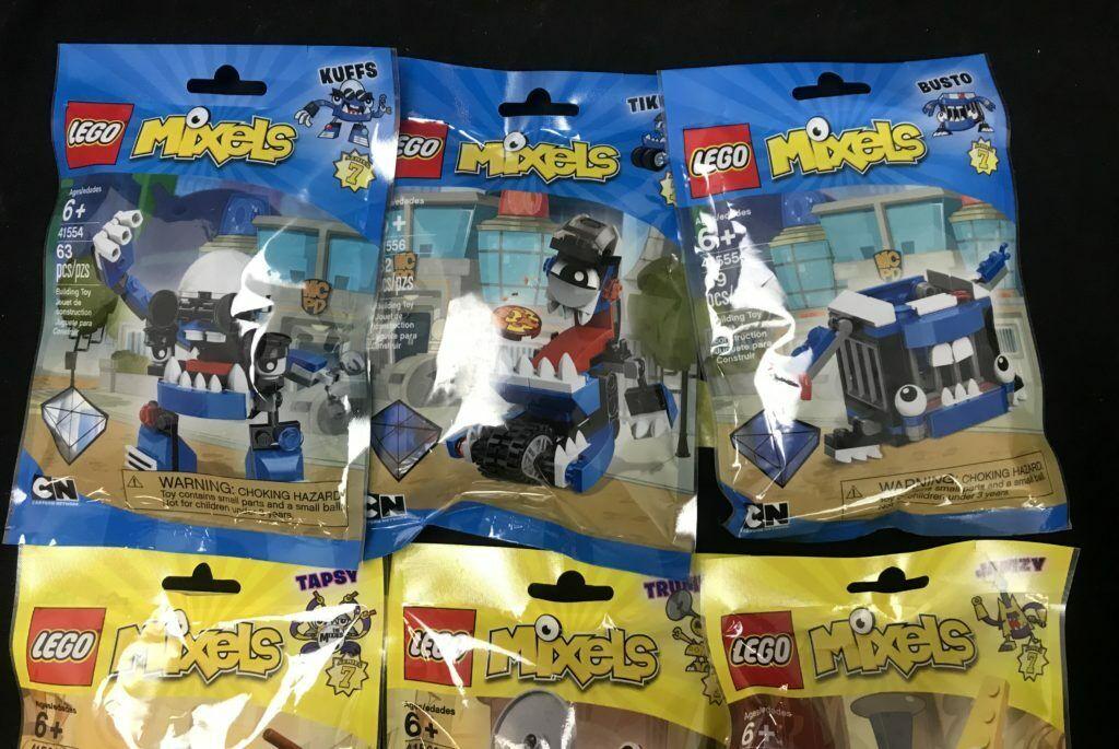 Complete Legos Series Lot of 9 Mixels Character Puzzles Ages 6+ NIP Grün Gelb