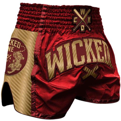 weinrot Shining Wicked One Muay Thai Shorts