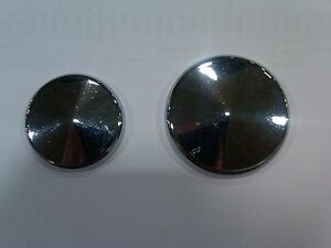 SHINY NUTZ FRONT N REAR BRAKE CALIPER INSERTS 88-99 HARLEY HOT looking TOPPERS