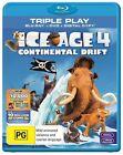 Ice Age 4 - Continental Drift (Blu-ray, 2012, 2-Disc Set)