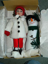 "Heritage Signature Collection ""Snow Much Fun Dolls"" New in Box with Certificate"