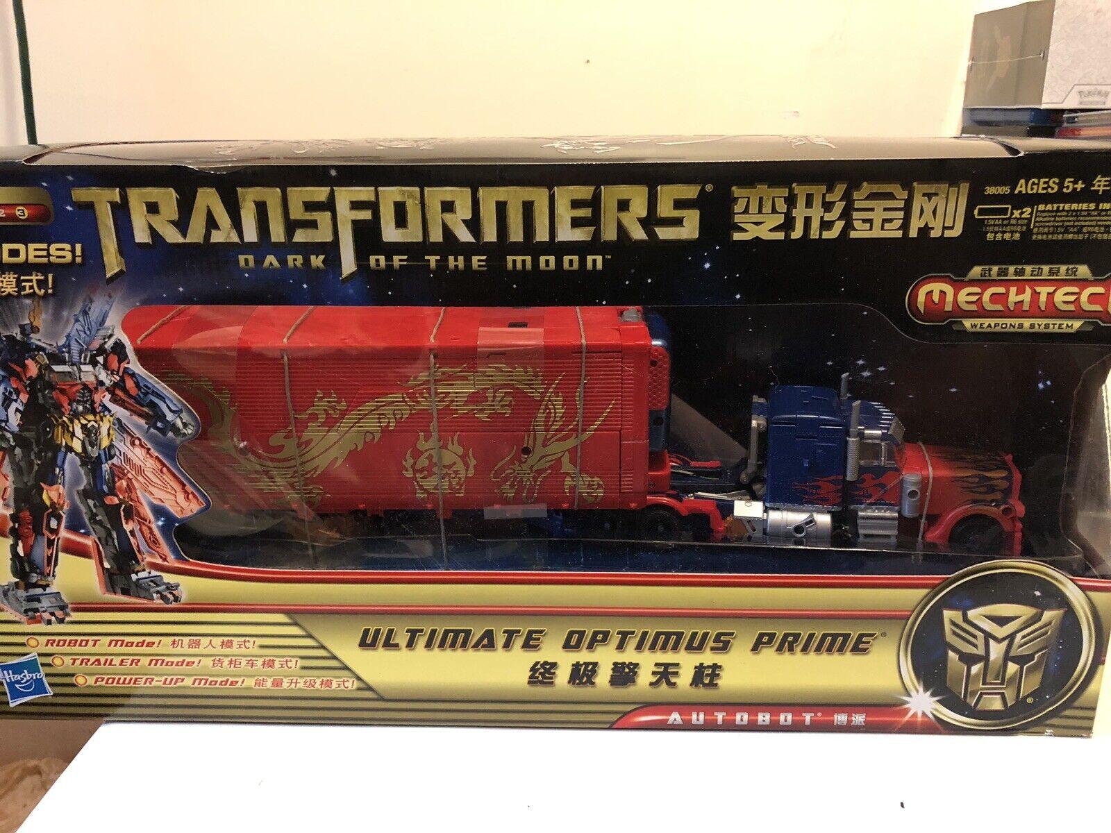 seguro de calidad Transformers Dotm Mechtech Ultimate Optimus Prime CNY Año Año Año del Dragón Edición  tienda de venta