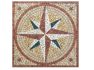 La rosa dei venti i mosaici del laboratorio san luca