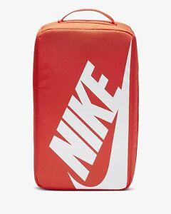 reparar demandante Integral  Nueva marca Nike Naranja Caja De Zapato zapatos zapatillas de  almacenamiento de información Bolsa Swoosh Nuevo con etiquetas | eBay