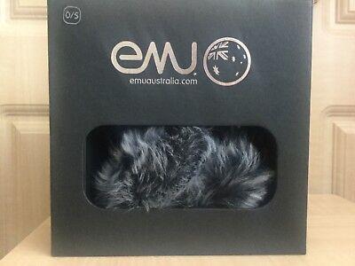 Amichevole Emu Australia Pelle Di Pecora Argento Grigio Mix Paraorecchi-pagato Nuovo Di Zecca - £ 69-affare-mostra Il Titolo Originale