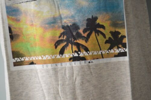 12,14 /& 16 YEARS GREY- SIZE 8,10 NEW Quiksilver Boys Printed T Shirt