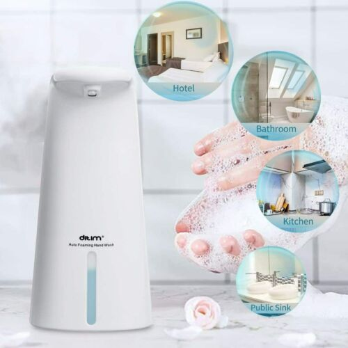 Touchless-Automatic-Foam-Soap-Dispenser-Infrared-Motion-Sensor