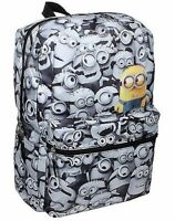 Despicable Me Minions Backpack School Bag Comics Print Minion All Over