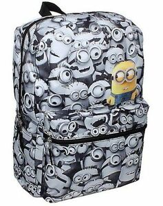 Image Is Loading Despicable Me Minions Backpack School Bag COMICS Print