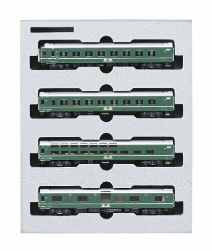 KATO [N scale] 24 system Twilight Express hematopoiesis 4-Coche Set 10-870 model