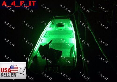 MULTI COLOR LED Boat Lights Kit Waterproof Pod Bright LED Strips Marine Interior