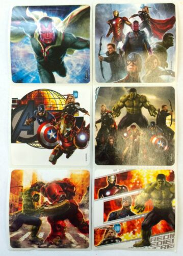 18 Avengers Age Of Ultron Stickers Party Favors Teacher Supply Hulk Thor Ironman