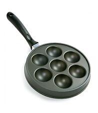 Norpro Nonstick Cast Aluminum Danish Aebleskiver Filled Pancake Pastry Pan New