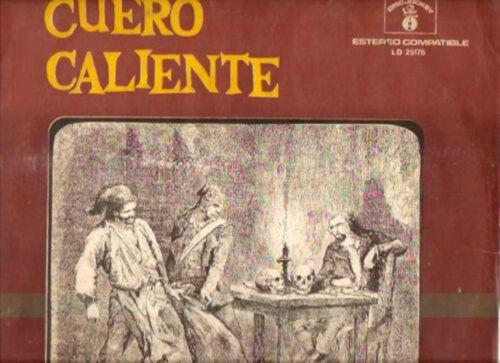 VOX DEI CUERO CALIENTE RARE Argentina LP