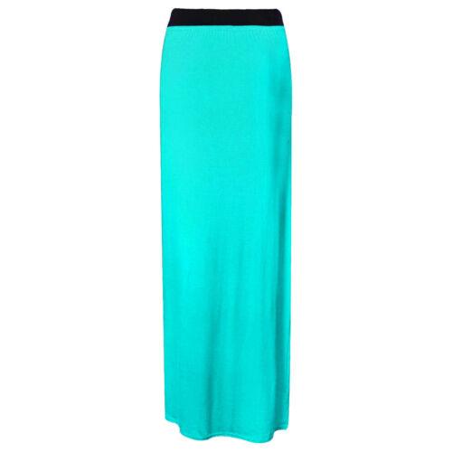 Nouveau Haut Femmes Jersey Robe Longue Jupe Plain Long Gypsy Toutes Tailles