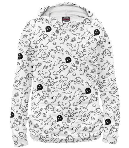 Die Antwoord 25 hoodie Yo-Landi Rat Mouse draft 100/% microfiber full print PB