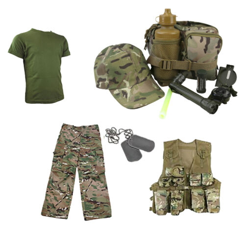Kids Pack X Dress up Walking Outdoor MTP//DPM aventure Explorateur Set
