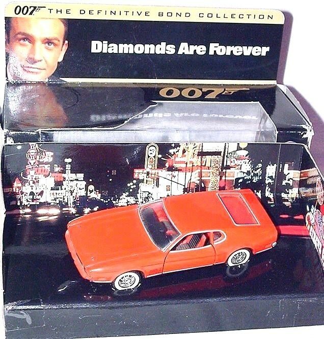 Corgi Toys 1 43 JAMES BOND 007 FORD MUSTANG MACH 1 DIAMONDS ARE FOREVER 02101 MB