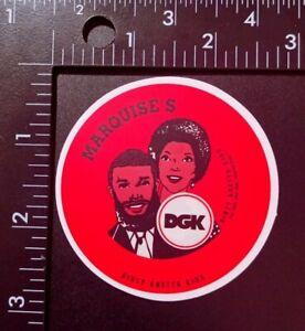 Dirty Ghetto Kids Marquise's DGK Skateboard Sticker