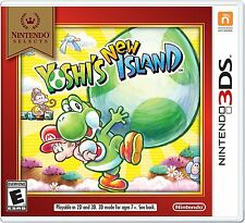 Yoshi's New Island - Nintendo Selects [Nintendo 3DS, NTSC, Adventure] NEW