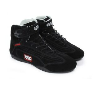 Simpson Racing Shoes >> Details About Simpson Adrenaline Racing Driving Shoes Black Sfi 3 3 5
