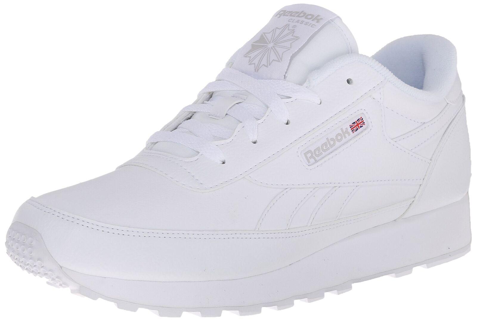 Reebok Women's Classic Renaissance Sneaker Us-white/Steel 9 B(M) US