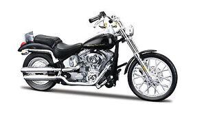 Harley-Davidson-2000-fxstd-softail-Deuce-escala-1-18-negro-de-maisto