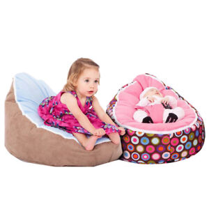 Fine Details About Baby Toddler Bean Bag Chair Kids Sofa Couch Cover Indoor Lounger With Harness Lamtechconsult Wood Chair Design Ideas Lamtechconsultcom