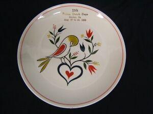 1959-034-Pennsylvania-Dutch-Days-034-8-034-Plate-Hershey-PA-Aug-27-30-VGC