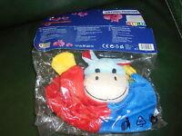Doudou Plat Hippopotame Lidl Best Price London Plat Bleu Rouge Hochet Neuf