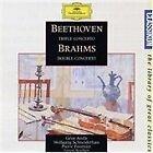 Beethoven: Triple Concerto; Brahms: Double Concerto (1996)