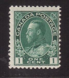 """CANADA 1911 MINT NH #104, KING GEORGE V """"ADMIRAL"""" ISSUE !!  A70"""