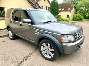 Land Rover Discovery 4 2.7TDV6 auto Commercial  2010/60 Registration