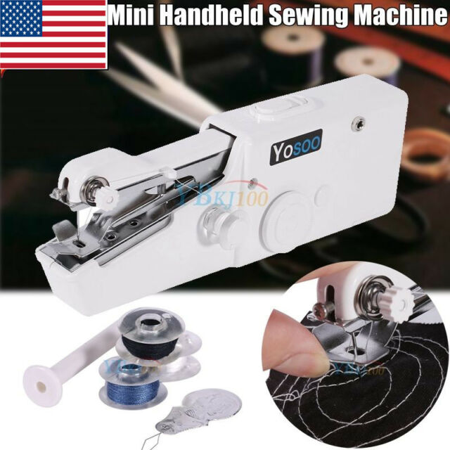 Portable Stitch Sew Hand Held Quick Sewing Machine Handy Cordless Amazing Sewing Machine Repair Tools