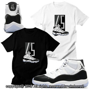 ac80440af48b chrispaul1 Source · CUSTOM T SHIRT MATCHING STYLE OF AIR JORDAN XI CONCORD  BLACK JD 11 4
