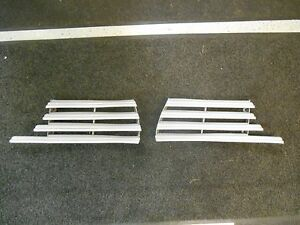 1942-Plymouth-grilles-left-and-right-NOS-Original-parts
