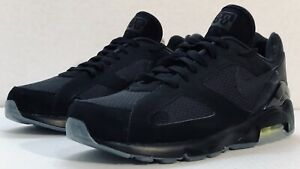 "Details about NEW Nike Air Max 180 ""Night Ops"" BlackBlack Volt Men's Size 10 AQ6104 001"