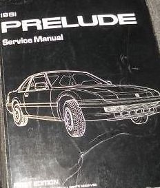 1991 honda prelude service shop workshop repair manual new ebay rh ebay com 1992 Honda Prelude 1992 Honda Prelude
