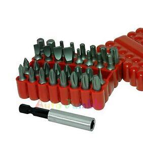 Screwdriver-drill-bit-screw-driver-bits-Hex-Torx-Pozi-Phillips-Flat-Head-NEW