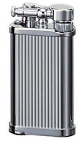 Corona Old Boy Lighter - Chrome Lines -