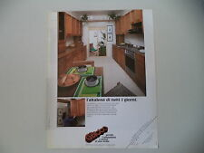 advertising Pubblicità 1981 CUCINE GATTO - CAMERANO ANCONA