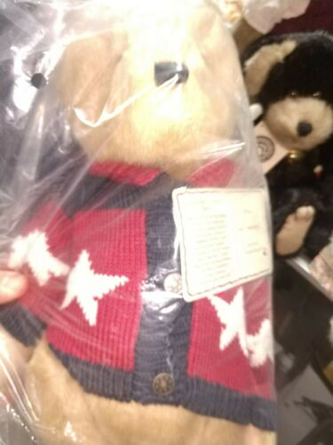 Boyds Dee C Washington Musical Bear #919843 Rare NWT Bear of the Month MAY 2005