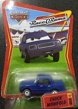 #86 DISNEY WORLD OF CARS CHUCK MANIFOLD MATTEL RACE O RAMA